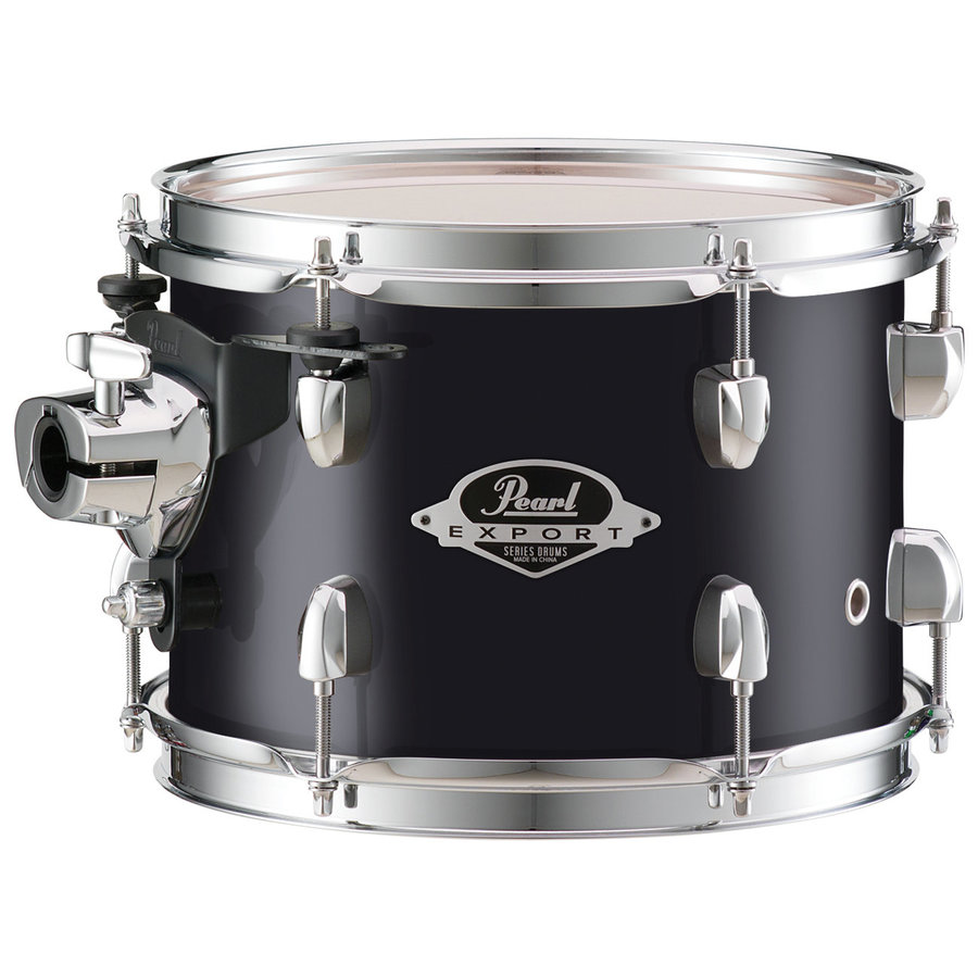 View larger image of Pearl Export EXX 5-Piece Drum Set - 20/14SD/14FT/12/10, Hardware, Jet Black