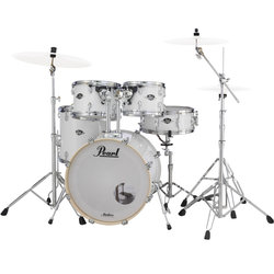 Pearl Export EXX 5-Piece Drum Kit - 20/14SD/14FT/12/10, Hardware, Pure White