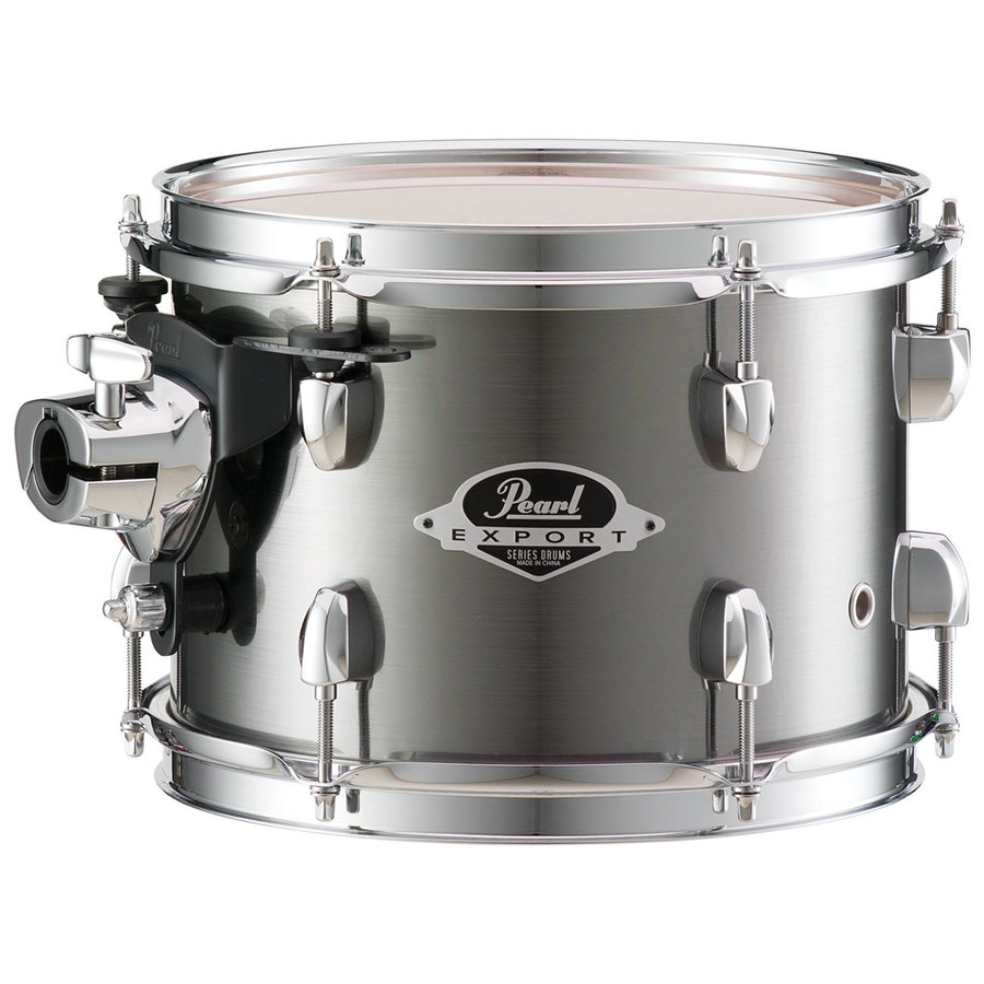 View larger image of Pearl Export EXX 5-Piece Drum Kit - 20/14SD/14FT/12/10, Hardware, Smokey Chrome