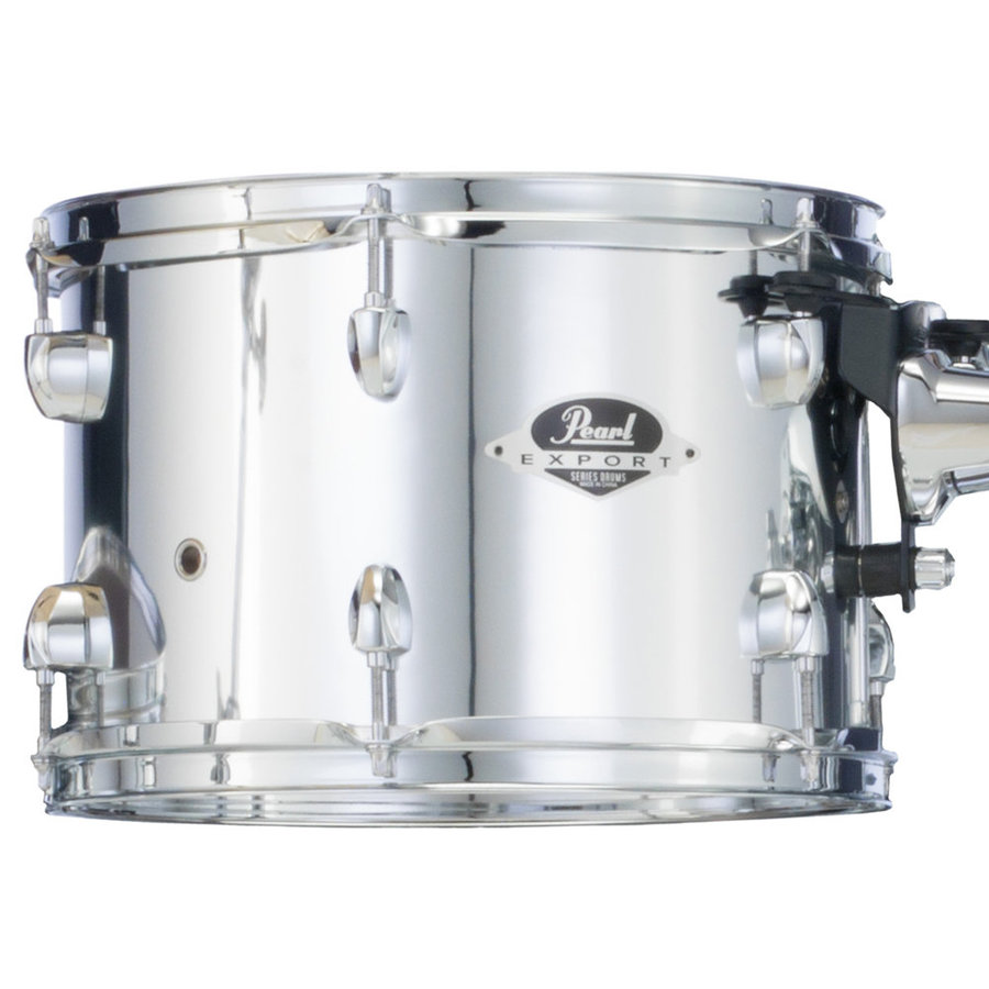 View larger image of Pearl Export EXX 5-Piece Drum Set - 22/14SD/16FT/12/10, Hardware, Cymbals, Throne, Mirror Chrome