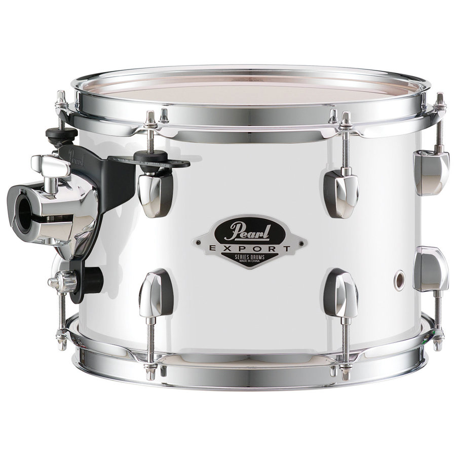 View larger image of Pearl Export EXX 5-Piece Drum Set - 22/14SD/16FT/12/10, Hardware, Pure White