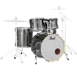 Pearl Export EXX 5-Piece Shell Pack - 22/14SD/14FT/12/10, Smokey Chrome