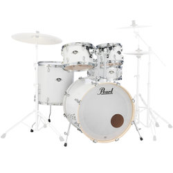 Pearl Export EXX 5-Piece Shell Pack - 22/14SD/16FT/13/12, Pure White