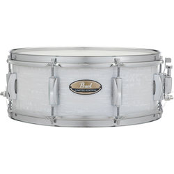 Pearl Limited Edition Snare Drum - 14x5-1/2, Strata White