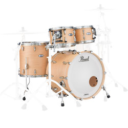 Pearl Masters Maple Complete 4-Piece Shell Pack - 22/14FT/12/10, Matte Natural