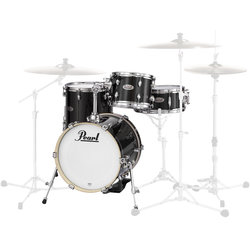 Pearl Midtown Series 4-Piece Shell Pack - 16/13SD/13FT/10, Black Gold Sparkle