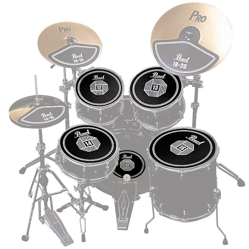 View larger image of Pearl RP50 Rubber Disk Set for Drum Set -