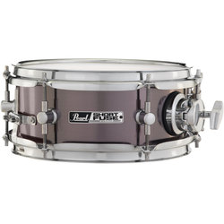 Pearl Short Fuse Snare Drum - 10x4-1/2, Brushed Pewter