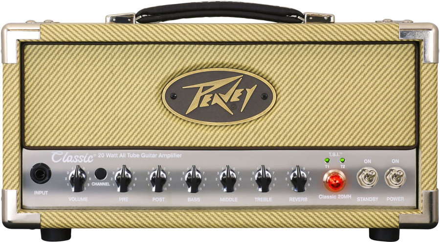 View larger image of Peavey Classic 20 MH Guitar Amp Head