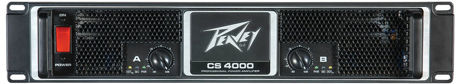 View larger image of Peavey CS 4000 Power Amplifier