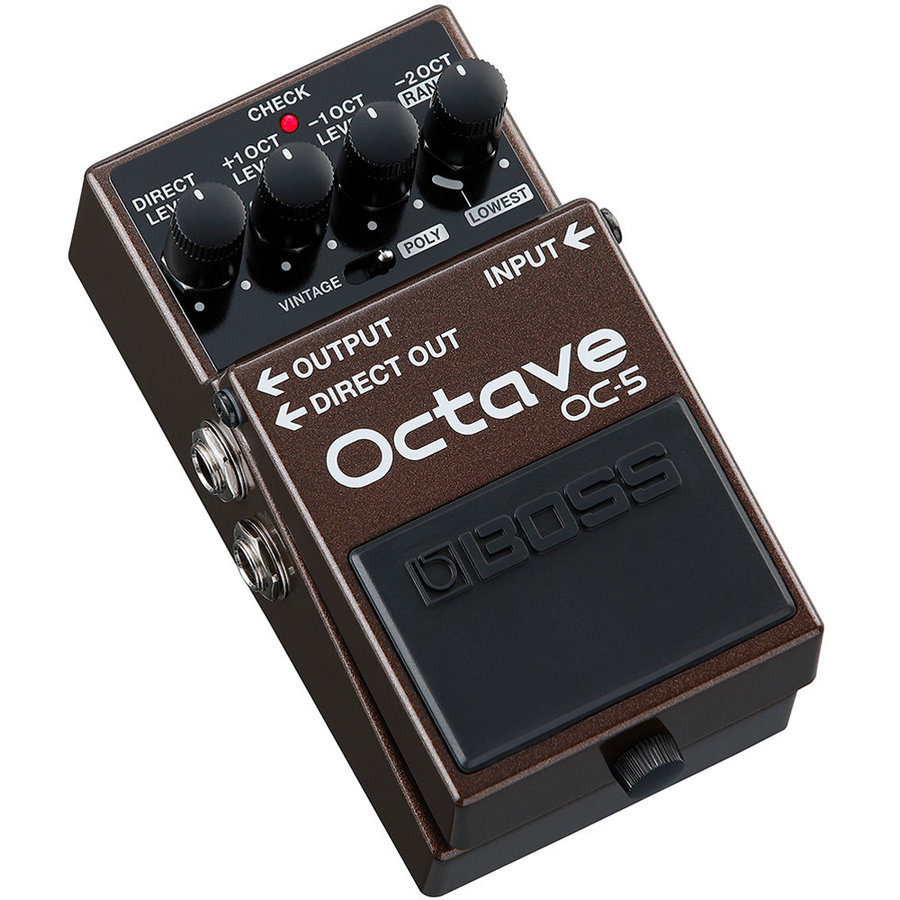 View larger image of Boss OC-5 Octave Pedal