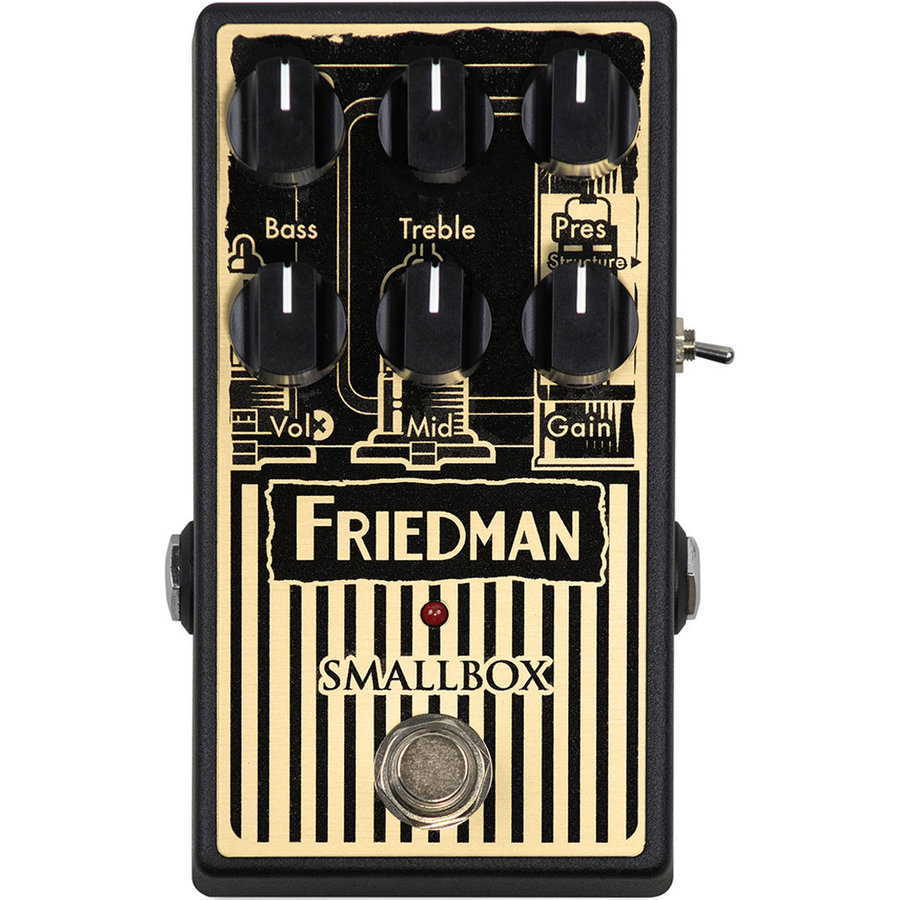 View larger image of Friedman Smallbox Overdrive Pedal
