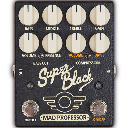View larger image of Mad Professor Super Black Boost/Overdrive Pedal