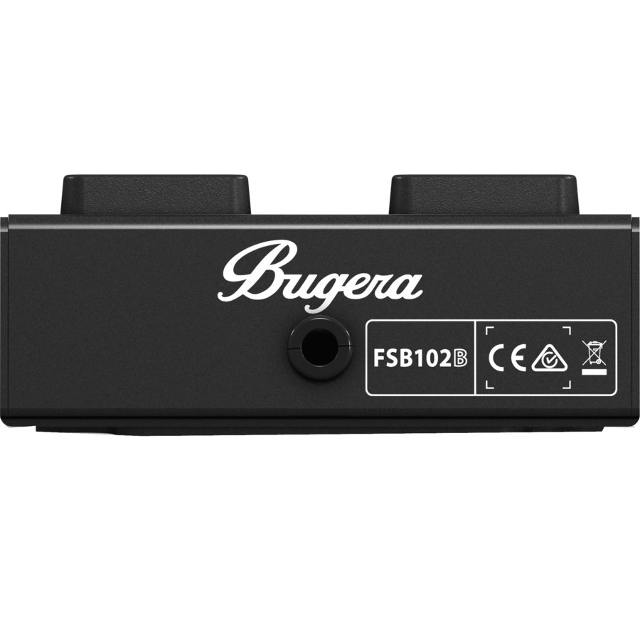View larger image of Bugera FSB102B 2-Button Footswitch for Bugera BXD and Veyron Series