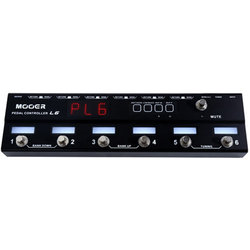 Mooer PCL6 Pedal Controller Loop 6 Pedal Controller with Tuning