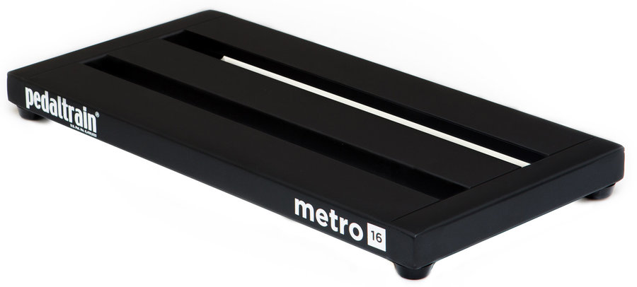 View larger image of Pedaltrain Metro 16 Three-Rail Pedal Board System with Tour Case