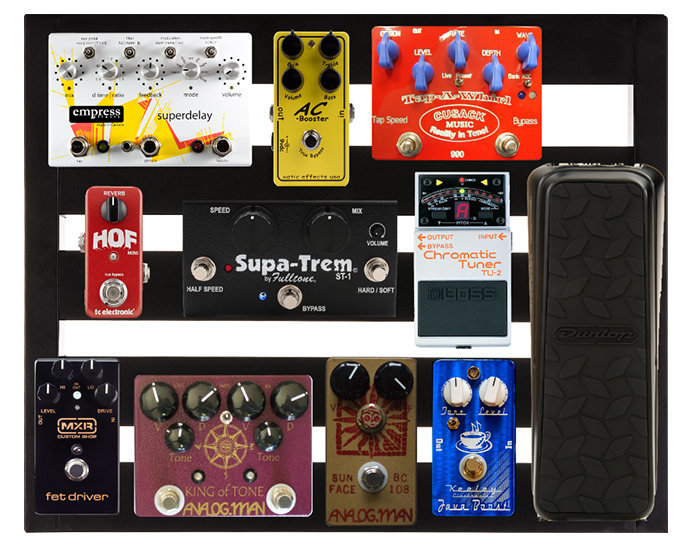 View larger image of Pedaltrain Novo 18 Five-Rail Pedal Board System with Soft Case
