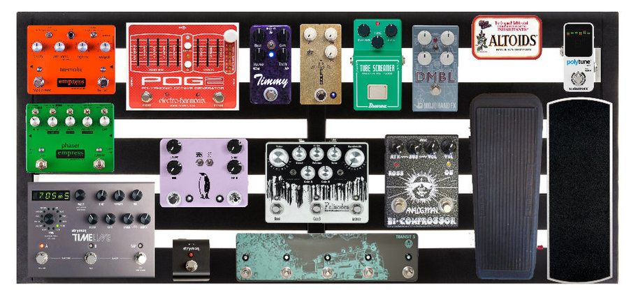 View larger image of Pedaltrain Novo 32 Five-Rail Pedal Board with Soft Case