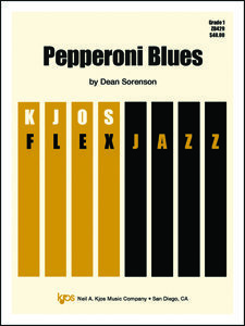 View larger image of Pepperoni Blues - Score & Parts, Grade 1