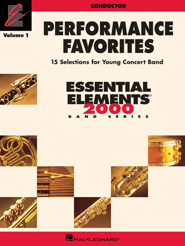 View larger image of Performance Favorites Vol.1 - Conductor Score
