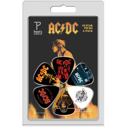 Perris ACDC Guitar Picks - 6 Pack