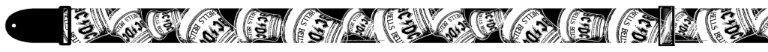 View larger image of Perris ACDC Guitar Strap - Black and White, 2