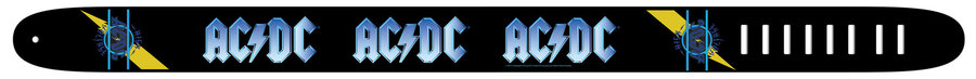 View larger image of Perri's ACDC Guitar Strap - High Voltage, 2.5