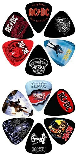 View larger image of Perris ACDC Licensed Guitar Picks - 12 Pack