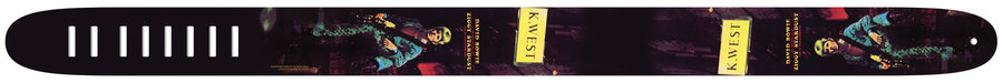 View larger image of Perris David Bowie Guitar Strap - Ziggy Stardust, 2.5, Pattern 1