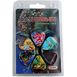 View larger image of Perris Iron Maiden Guitar Picks - 6 Pack