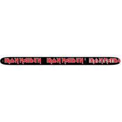 Perri's Iron Maiden Guitar Strap - Black and Red, 2.5