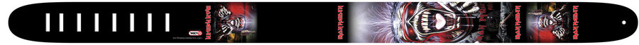 View larger image of Perri's Iron Maiden Guitar Strap - The Real Live Dead One, 2.5