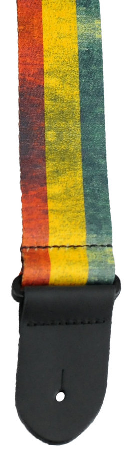 View larger image of Perris Polyester Guitar Strap - Guinee Flag, 2
