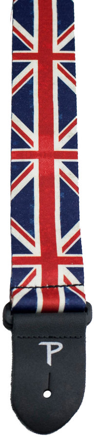 View larger image of Perris Polyester Guitar Strap - Union Jack, 2