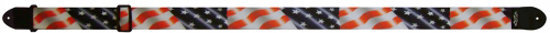 View larger image of Perri's Polyester Guitar Strap - USA Flag, 2