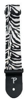 View larger image of Perri's Polyester Guitar Strap - Zebra, 2