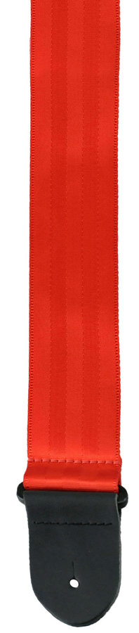 View larger image of Perri's Seatbelt Webbing Guitar Strap - Red, 2