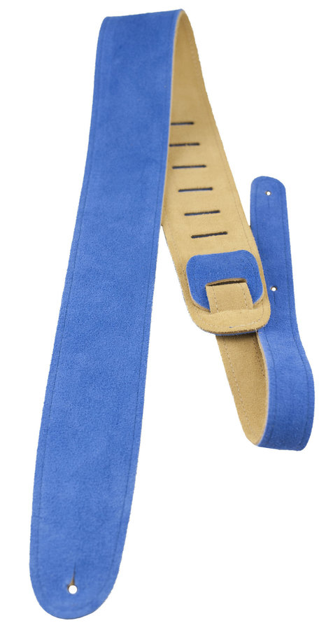 View larger image of Perri's Suede Guitar Strap - Royal Blue, 2.5