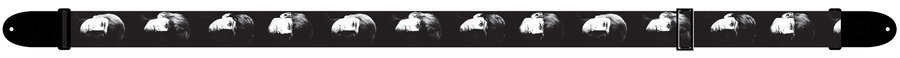 View larger image of Perris The Beatles Guitar Strap - Faces, 2