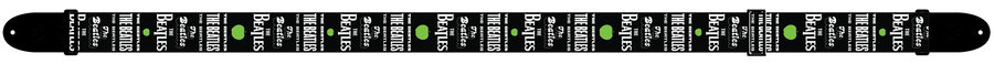 View larger image of Perris The Beatles Guitar Strap - Green Apple, 2