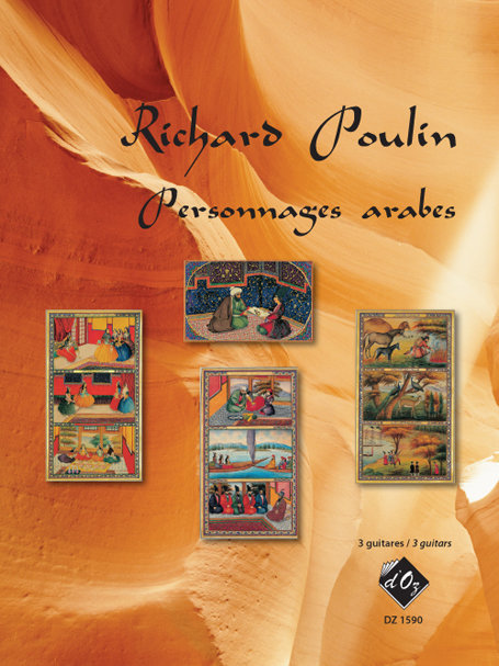 View larger image of Personnages Arabes (Poulin) - Guitar Trio