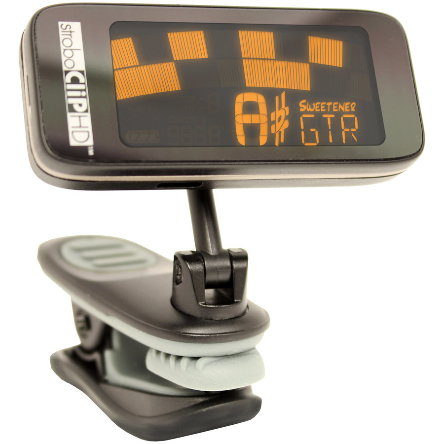 View larger image of Peterson StroboClip HD Clip On Guitar Tuner