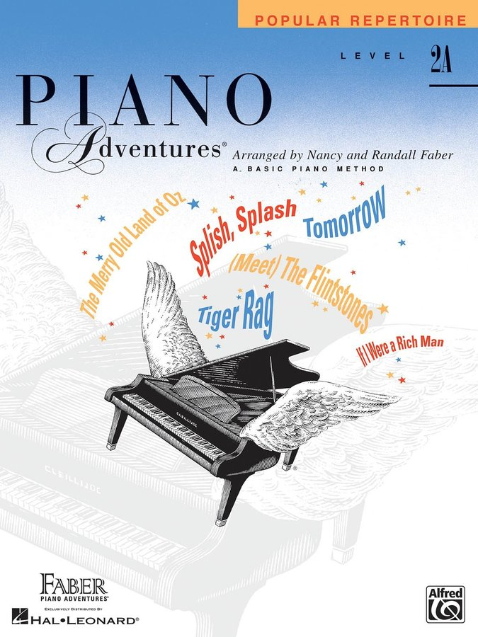 View larger image of Piano Adventures Level 2A - Popular Repertoire