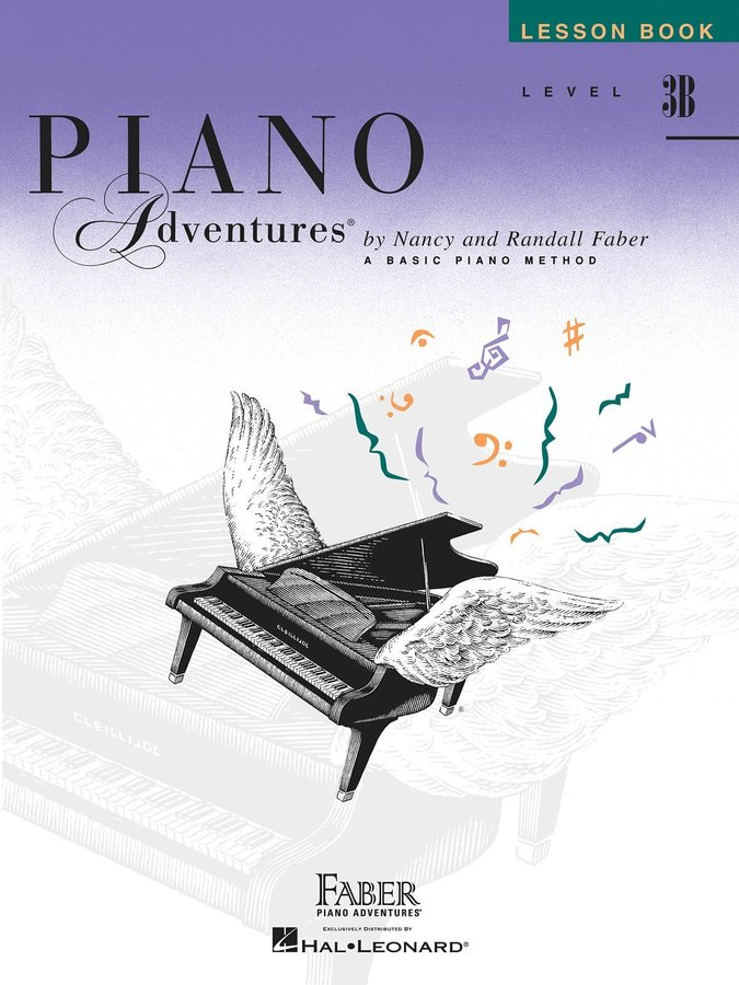 View larger image of Piano Adventures Level 3B - Lesson Book