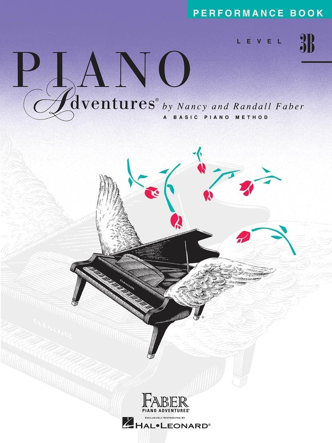 View larger image of Piano Adventures Level 3B - Performance Book