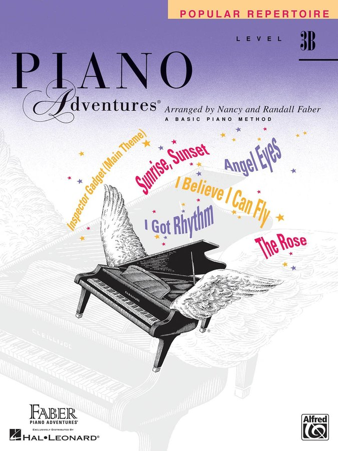 View larger image of Piano Adventures Level 3B - Popular Repertoire
