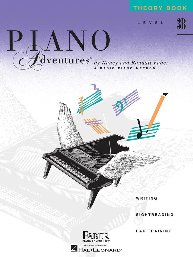View larger image of Piano Adventures Level 3B - Theory Book