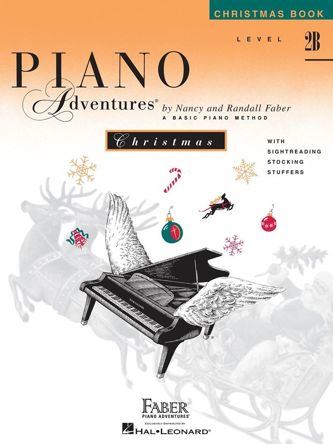 View larger image of Piano Adventures Level 2B - Christmas Book