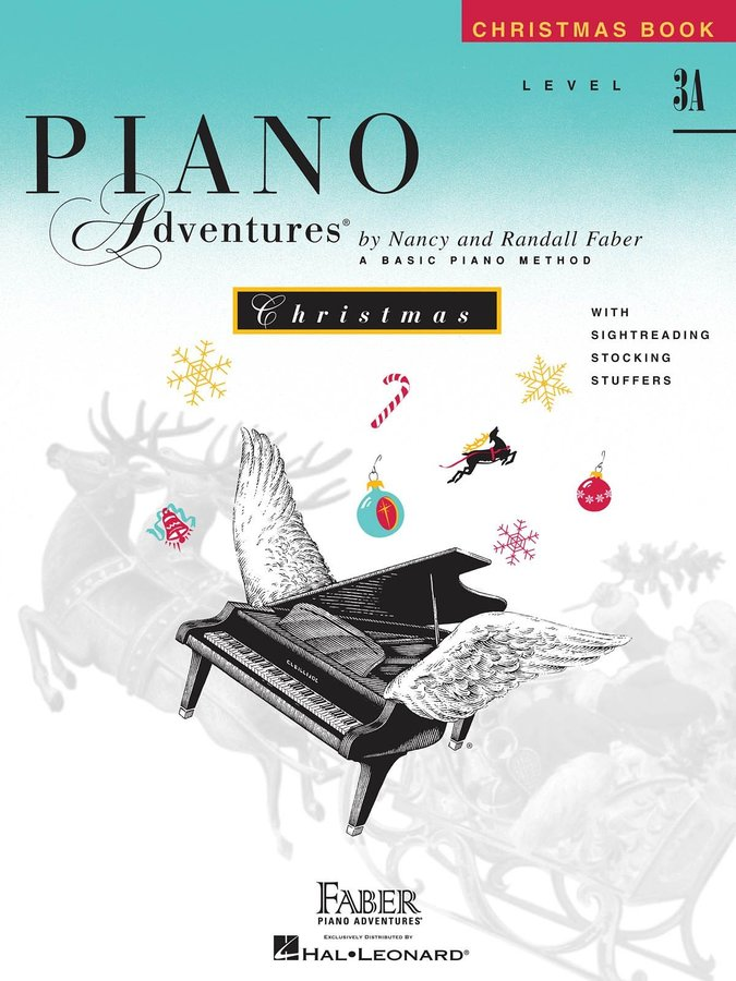 View larger image of Piano Adventures Level 3A - Christmas Book