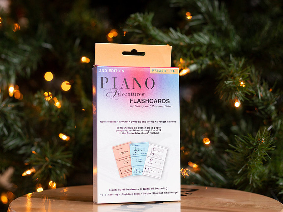 View larger image of Piano Adventures Flashcards In-a-Box